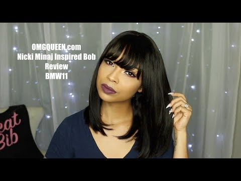 Virgin Brazilian Bob Wig With Bangs