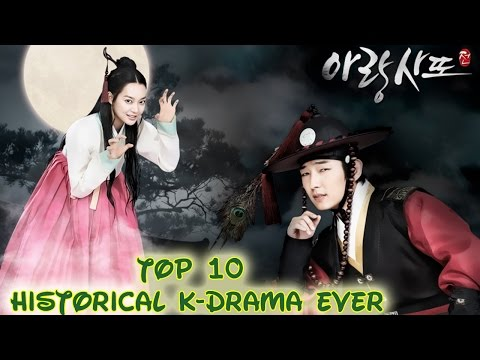 Top 10 korean historical drama