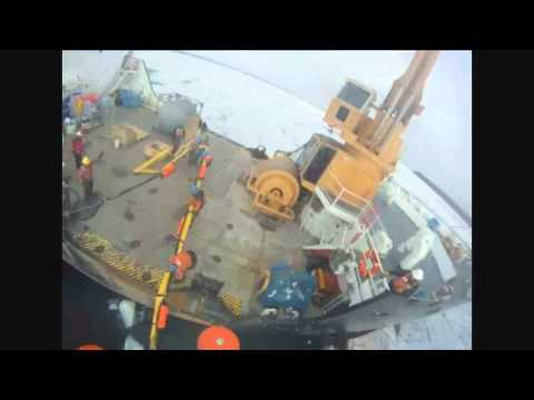 Coast Guard Deploys Oil Skimming Equipment in Straits of Mackinac