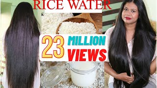 This Is What RICE WATER Did To My HAIR! Results & Experience | Sushmita