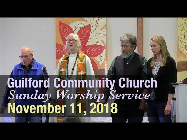 Guilford Church Service - 11/11/18