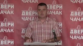 Драган Ћендић: Подижемо лествицу нашег организовања и рада у Чачку(, 2016-07-27T09:23:56.000Z)