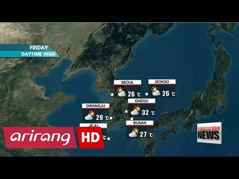 Sporadic rain for the central regions