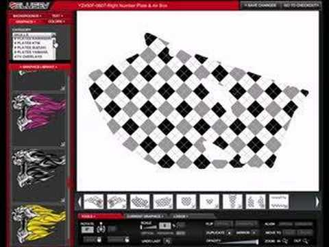 Design Your Own Mx Atv Sled Graphics Youtube