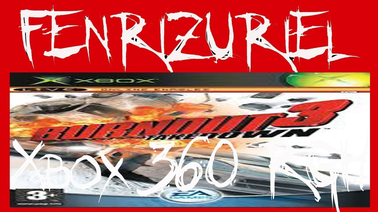 Descarga Burnout 3 Takedown Xbox Classic |Rgh| |Xbox 360| |Mega| |Español|
