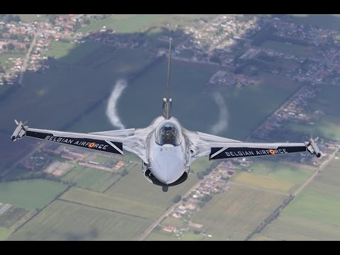 Amazing Footage of the Belgian Air Force's F-16s!