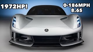 MEET THE 1972HP LOTUS EVIJA - THE QUICKEST CAR EVER MADE!