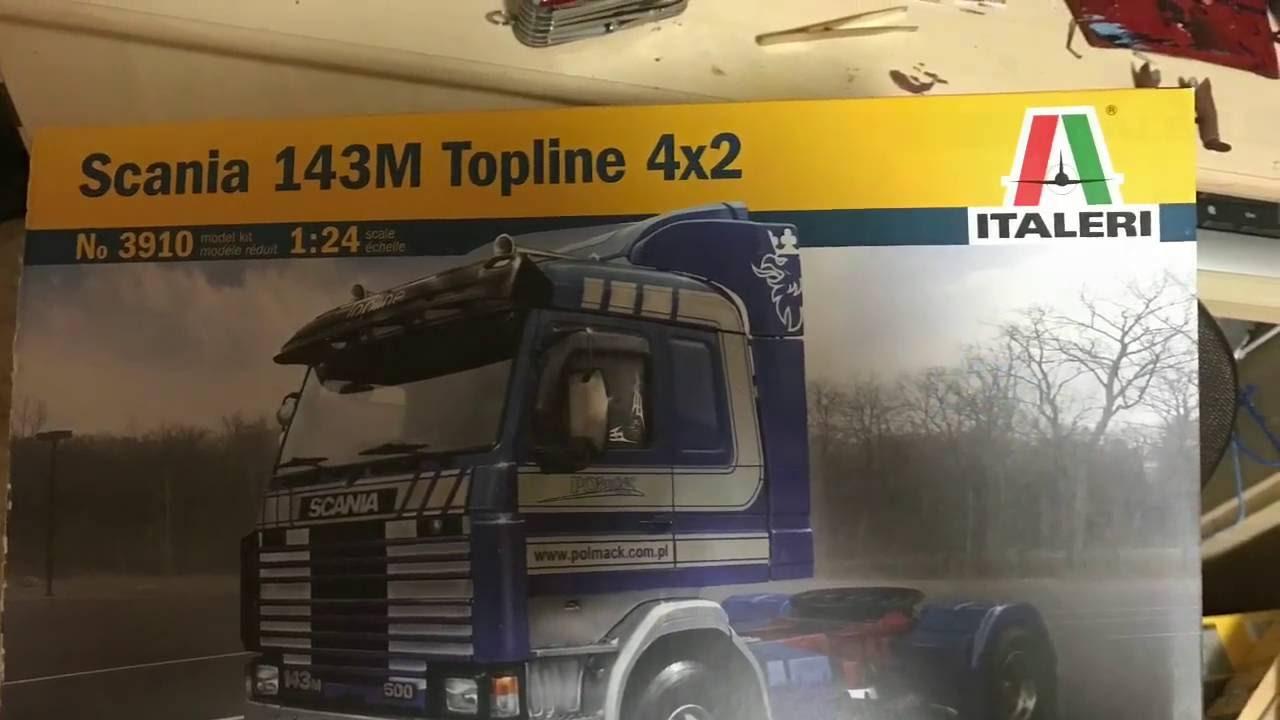Italeri 3910 Scania 143m Topline 4x2 Model Kit Scala 1:24