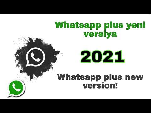 Whatsapp plus yeni versiya 2021/ Whatsapp plus new version/ WhatsappAero, JiWhatsapp