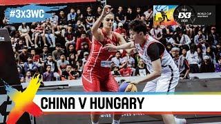 China v Hungary   Women's Full Game   Quarter-Final   FIBA 3x3 World Cup 2018