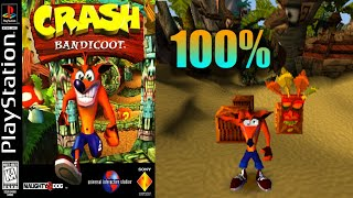 Crash Bandicoot [03] 100% PS1 Longplay