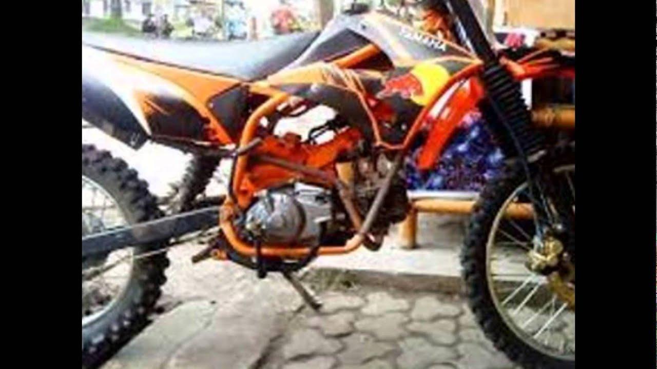 Video Modifikasi Motorplus TRAIL YAMAHA VEGA R Tahun 2005