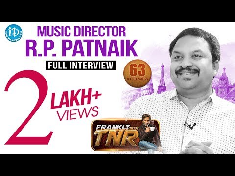 Music Director RP Patnaik Exclusive Interview | FranklyWithTNR #63 | TalkingMoviesWithiDream #394