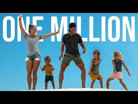 1 MILLION SUBSCRIBERS - Our Little Family Travel Vlog