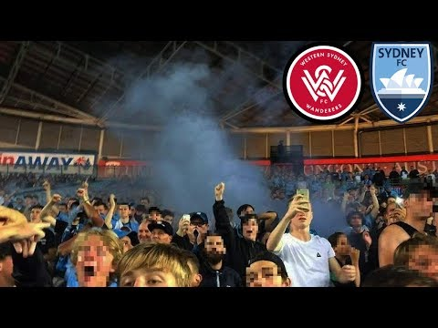 ANZ DERBY MADNESS | WSW vs Sydney FC 1-3 Cove Vlog | flares, chants, goals and more