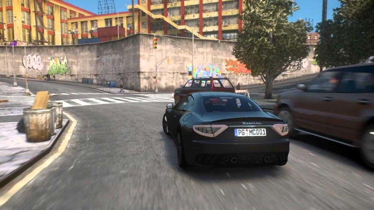 Grand Theft Auto 4 14 Maserati Granturismo Mc Stradale