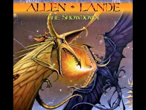 "RUSSELL ALLEN/JORN LANDE""Turn All Into Gold"""