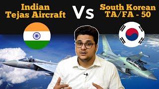 Tejas Aircraft और TA/FA-50 Aircraft में कौन है बेहतर? Tejas And T50 Golden Eagle Aircraft Comparison
