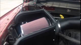 k air intake ram 1500 2012 before and after