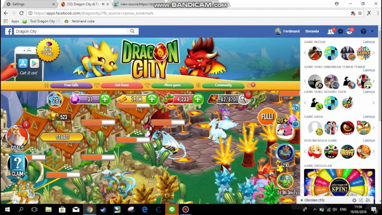 dragon city 100m gold ubmit