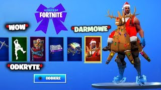 * NEW * 14 DAYS FORTNITE ALL PRIZES DATE! FREE SKINS-(All free Fortnite gifts)