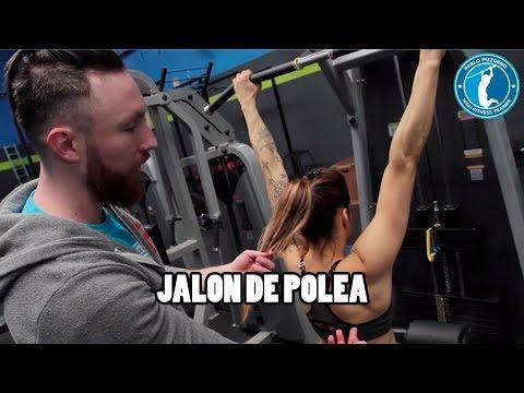 JALON DE POLEA PARA ESPALDA