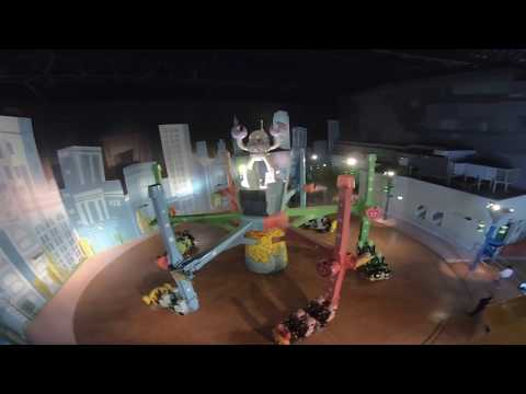 Adventure Time – The Ride of OOO with Finn & Jake IMG Worlds of Adventure 2019 POV Onride