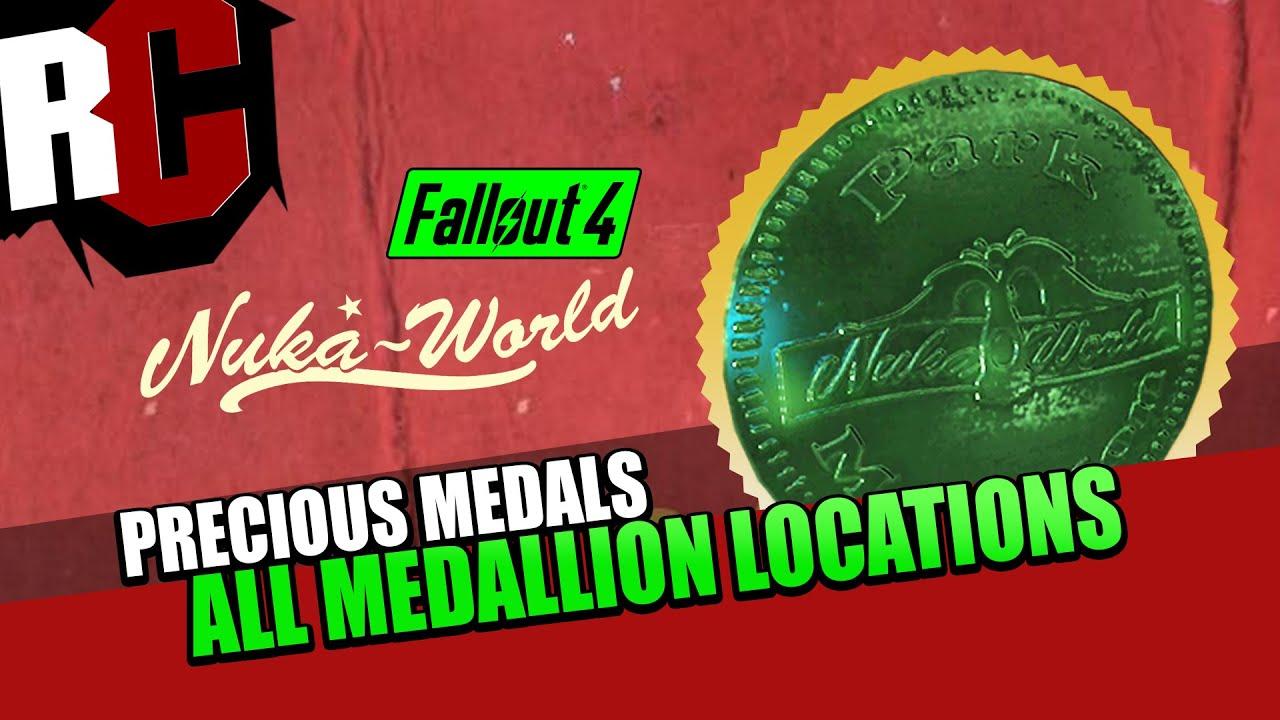 fallout 4 nuka world precious medals quest all medallion