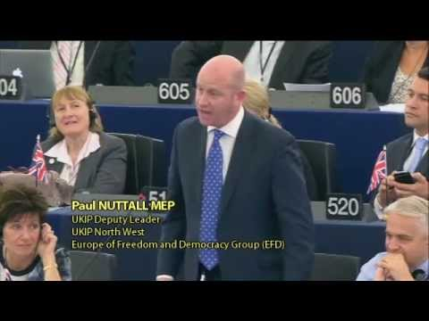 Juncker has never been elected by the people - UKIP's Paul Nuttall