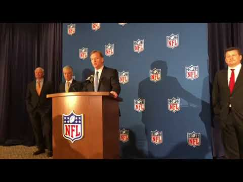 NFL National Anthem Policy Press Conference Q And A