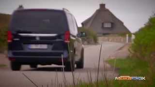 Mercedes Classe V, la prova di MotorBox