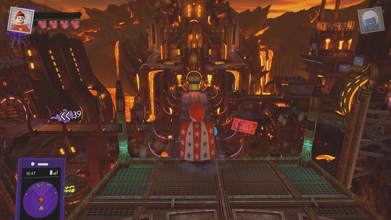 LEGO DC Super-Villains - Free Roam Gameplay (Metropolis ...Apokolips Smallville