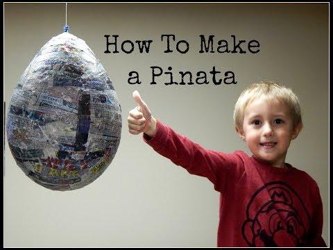 How to Make a Pinata - DIY