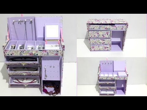 DIY Room Organizer | Jewelry Box | Accessories Box