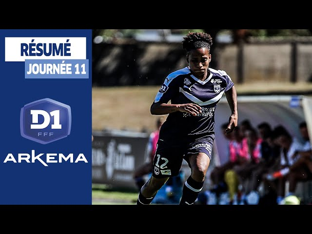 D1 Féminine, les buts de la 11e journée I FFF 2019-2020