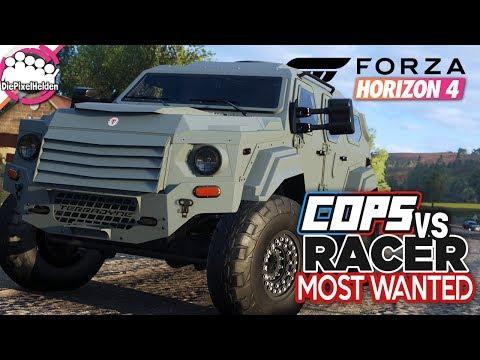 FORZA HORIZON 4 - COPS vs RACER Most Wanted : Die Cops rüsten auf - Forza Horizon 4 MULTIPLAYER