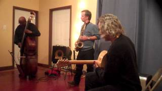 Joe Morris, Marco Eneidi, William Parker @ Studio 34, Philadelphia, 10-13-12 1/2