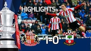 Sunderland vs Southampton 1-0, stunning Gardner strike - FA Cup 5th Round goals & highlights