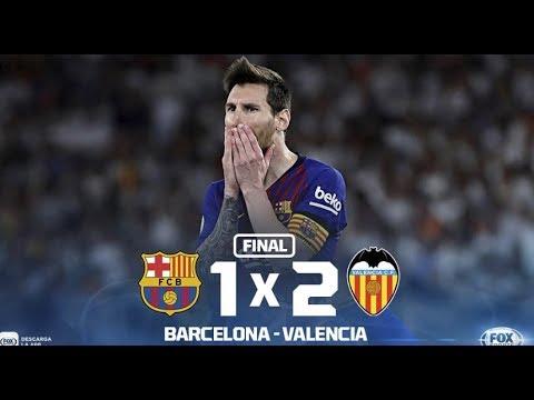 Download Barcelona vs Valencia 1-2 , Final Copa del Rey Goles y resumen