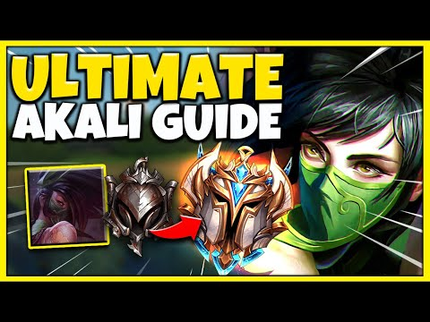 RANK 1 AKALI ULTIMATE SEASON 10 AKALI GUIDE | HOW TO PLAY, ALL MATCHUPS, COMBOS League of Legends