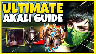 RANK 1 AKALI ULTIMATE AKALI GUIDE | HOW TO PLAY, ALL MATCHUPS, COMBOS - League of Legends