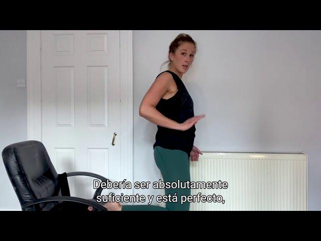 Ejercicios con Alex Bull: Estirando el flexor de la cadera