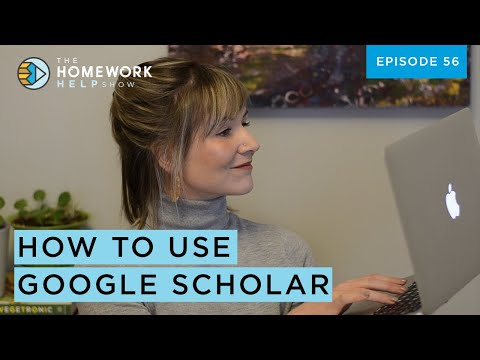 How to Use Google Scholar for Academic Research | The Homework Help Show EP 56