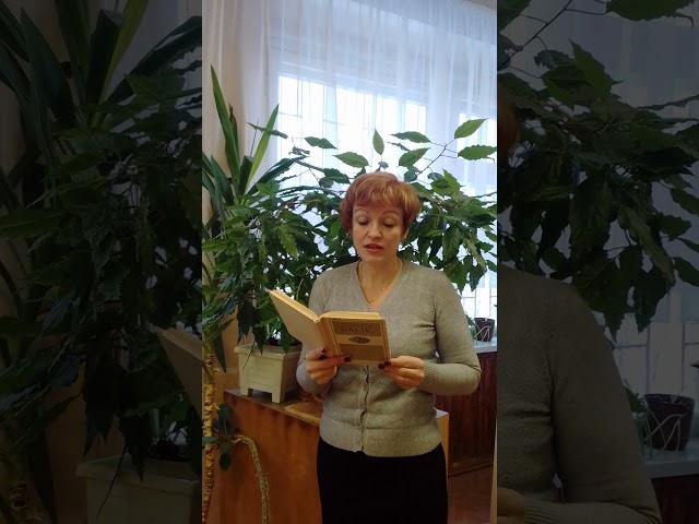 Изображение предпросмотра прочтения – ТатьянаРусанова читает произведение «О доблестях, о подвигах, о славе» А.А.Блока