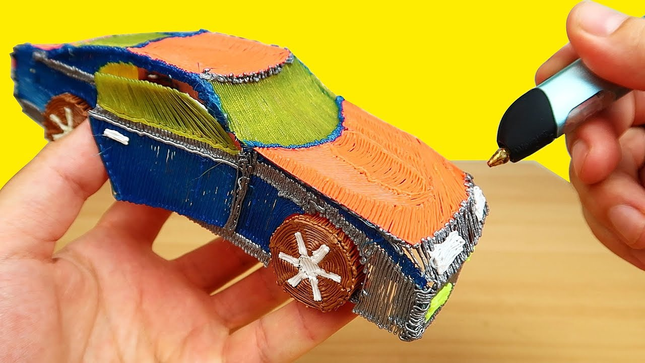 3D РУЧКА! Рисую Спортивный Автомобиль! | Программа для пк Автозаработок
