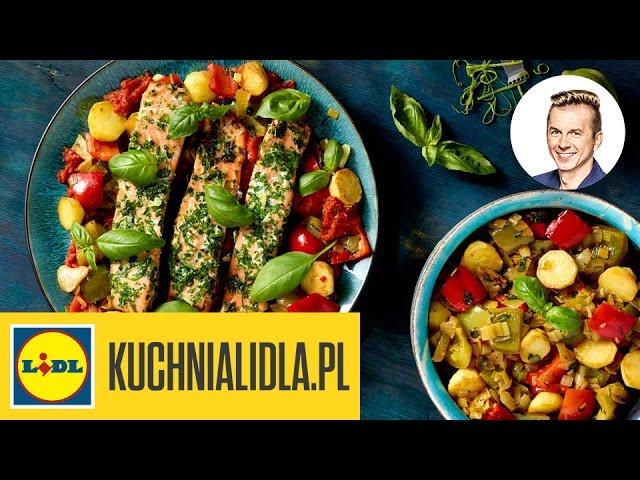 Filet Z Lososia W Peperonacie Ryby Sa Super Przepisy Kuchni Lidla Youtube