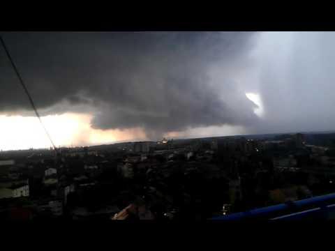 Tornado in Pancevo - Serbia