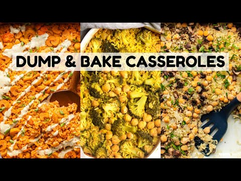 Easy & Tasty Vegan Casseroles (Dump & Bake)