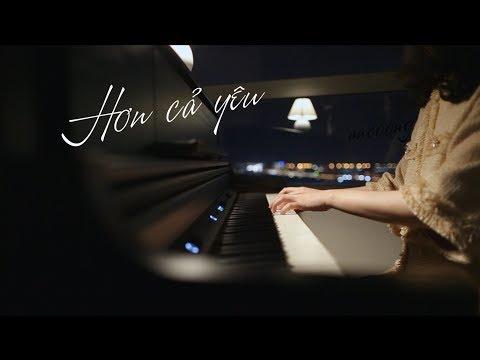 HƠN CẢ YÊU - ĐỨC PHÚC | PIANO COVER #ANCOONG