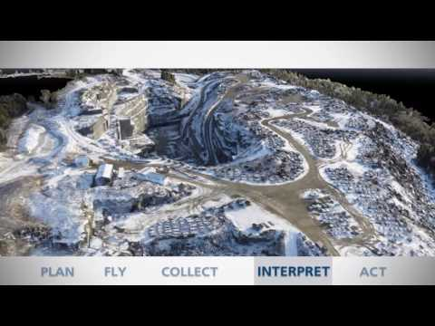 Microdrones Aerial Surveying Workflow